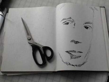 Joe The Quilter sketchbook