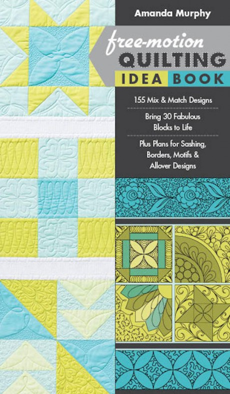 Free Motion Quilting Idea Book Amanda Murphy